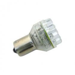 LED 1156 wie 12V 21W BA15s gelb - 24 LED (6x LED Back)