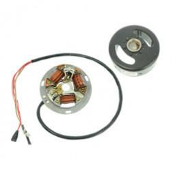 Schwunglichtprimärzünder SLPZ 8307.12/1 - Lichtmaschine (Rotor 8307.10-010 + Stator) - Unterbrecherzündung - 12V 35/35 W Bilux -