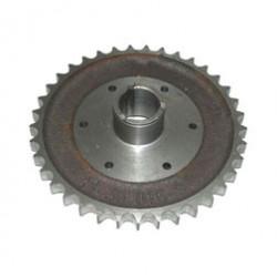 Kupplungskettenrad TS/ES 125, 150, TR150 - 37 Z - Einfach -  8,6 mm breit