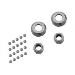 Set Radlager ø 12mm, inkl. 2x Lagerschalen, 2x Konus, 20x Kugel - OPTIMA-Nabe - SR1, SR2, SR2E, KR50