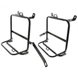 SET Seitengepäckträger - rechte und linke Seite, schwarz - für Motorrad ETZ 250