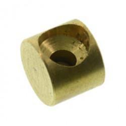 Lötnippel - Form D - ca. Ø5 und 4,00mm Höhe - Bohrung Ø1,8mm