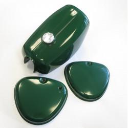 Tank Set incl. Seitendeckel für Simson S51 S70 S50 Billardgrün
