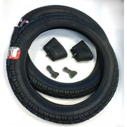 Reifen Set für Simson S50 S51 Schwalbe Star VRM094 Vee Rubber 2,75 x 16 komplett