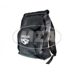 Rucksack, schwarz/grau, Motiv: SIMSON