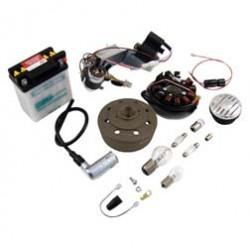 Umrüstsatz Zündanlage VAPE (M-G-V) für KR51/1, KR51/2 auf 12V 35/35W - mit Zubehör, ohne Säure